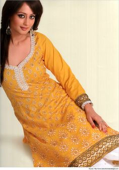 Trendy Salwar Kameez Neck Designs with Laces for you