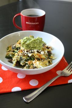 Healthy Hits the Spot | Don't tell me it's hard to have veggies with breakfast... :) | http://www.healthyhitsthespot.com