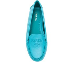 91aabaa52b427f Prada driving loafers (£445) ❤ liked on Polyvore featuring shoes and loafers