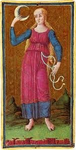 visconti-sforza tarot deck moon - Google Search