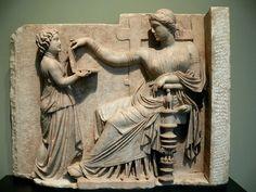 Overwhelming proof the Romans were addicted to Facebook. - Adam Pash (taken at the Getty Villa in Malibu) http://twitter.yfrog.com/g0l17wj  http://www.getty.edu/art/gettyguide/artObjectDetails?artobj=8100