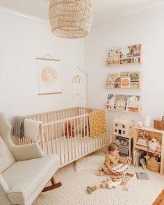 Baby Room Diy, Baby Bedroom, Baby Room Decor, Diy Baby, Girl Nursery, Nursery Room, Girl Room, Baby Room Neutral, Nursery Neutral