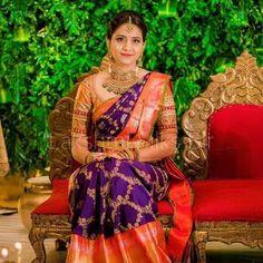 Bridal Sarees South Indian, Wedding Silk Saree, South Indian Bride, Silk Kurtas, Khadi Saree, Sari, Wedding Dresses Men Indian, Indian Weddings, Silk Sarees With Price