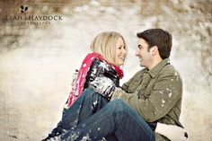 Leah Haydock Photography: Winter Engagement Pictures :: Lunda + Jonathan :: What happens in Vegas doesn't always stay there