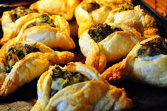 Purim: Spanakopita Hamantaschen.  For more ideas check out Everyday Simchas Pinterest Purim Board!