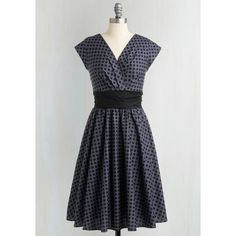 50s Long Cap Sleeves Fit & Flare Pretty on the Park Bench Dress (£59) via Polyvore featuring dresses, summer dresses, a line dress, petite long dresses, fit and flare dress and tall dresses