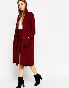 ASOS 60s Longline Duster Co-ord