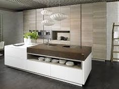 j rotherham Neolith counter in iron corten finish