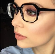 3f4ee4e947bf8 three Wise Tricks And 17 Stylish Makeup Concepts For Glasses Wearers
