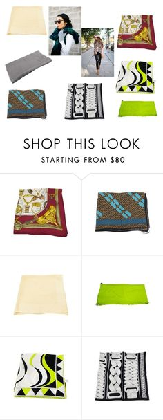 """""""Scarf Look"""" by alexissuitcase on Polyvore featuring Hermès, Fendi, Louis Vuitton and Emilio Pucci"""