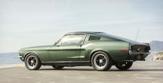 The Mustang From Bullitt Recreated For Steve McQueen`s Son. Beautiful!!