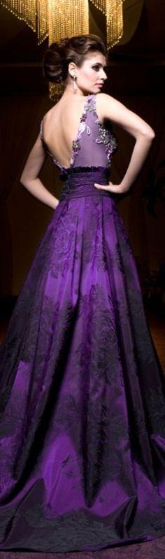 b4a73f335c Rochii de Seara - Colectia Velvet Angels 2013 ~ Purple Love