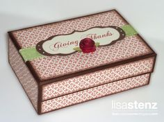 "Lisa's Creative Corner: A Heartfelt ""Thank You"" and a ""Giving Thanks"" Box"