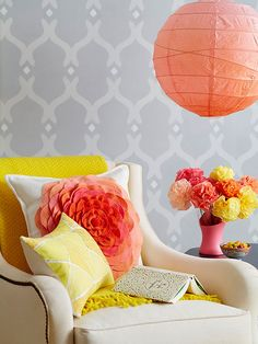 Free Patterns and Project Plans  Start your DIY projects with our free patterns and project plans for stenciled walls, stitched home accents, furniture, and more.  Wall Stencil Pattern