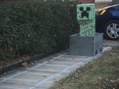 Minecraft party decor ideas.