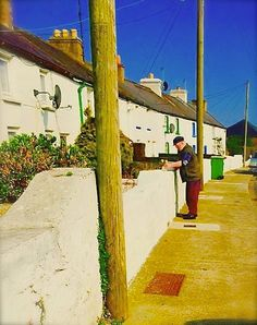 Whitewash at Carcur Cottages by Caroline Daly Jones Wexford Town, Wexford Ireland, Whitewash, Cottages, Gem, Most Beautiful, Highlights, Places, Cabins