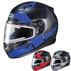 HJC CL-17 Boost Electric Lens Mens DOT Sled Winter Sports Snowmobile Helmets