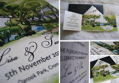 Wedding Invitation Darook Park Cronulla by Create my Kaleidoscope (cmyk)