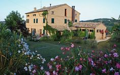 Casal Dei Fichi! In beautiful Marche, Italy.    A beautifully restored farmhouse in Marche, Italy offering 6 luxurious apartments!    I've been and I loved it. I want to go back!