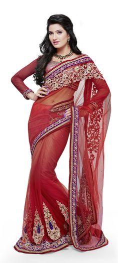 Designer Sarees - Find complete directory of designer handwork #sarees manufacturers from India.