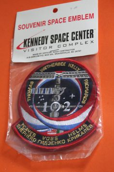 STS-102 Space Shuttle Mission . Vintage Collectable. NASA Space Shuttle Missions, Kennedy Space Center, Cooking Timer, Nasa, Future, Vintage, Future Tense, Vintage Comics