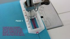 Coser ojales con máquina casera Sewing Hacks, Tips, Cilantro, Sewing Tips, Beginner Sewing Patterns, Sewing Lessons, Sewing Techniques, Sewing Tutorials, Sewing Projects