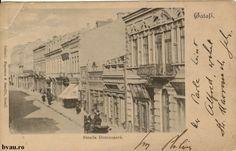 """Strada Domnescă, Galati, Romania, anul 1905.  Imagine din colecţiile Bibliotecii Judeţene """"V.A. Urechia"""" Galaţi. Romania, Amen, Painting, Pictures, Painting Art, Paintings, Painted Canvas, Artist, Drawings"""