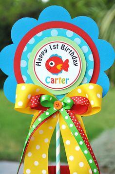 first birthday centerpiece