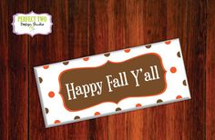Happy Fall Y'all harvest wood sign and by Perfect2DesignStudio