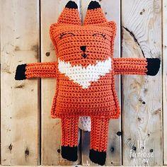 Ravelry: Finn the Ragdoll Fox pattern by The Farmhouse Nook Crochet Cactus, Crochet Bunny, Fox Pattern, Cat Friendly Home, Cat Hat, Woodland Nursery Decor, Baby Girl Blankets, Forest Animals, Thread Crochet