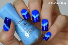 GioNails: 31DC2015 Day 5: Blue Nails