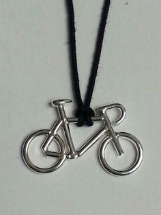 Ciondolo in argento 925°°° - jewelry - bike