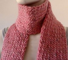 Your place to buy and sell all things handmade Chunky Scarves, Pink Scarves, Chunky Wool, Warm Fuzzies, Wool Scarf, Pink Color, Christian, Artists, Knitting