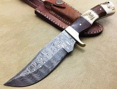 Custom MAde Hunting Knife with Unique Design