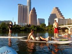 SUP Austin - Stand Up Paddle Austin - SUP Austin Texas. (Austin, TX) - Meetup - check it out to see if they have any fun events while we are there