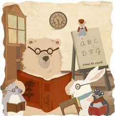 Marta and Leonor - professional children's illustrator