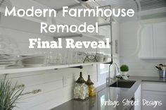 Modern Farmhouse Kitchen Final Reveal