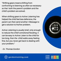 #parenting #activelistening #imessages #gordonmodel #gordontraining Feeling Fine, Active Listening, Training Programs, Best Quotes, Parenting, Messages, Feelings, Workout Programs, Best Quotes Ever