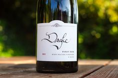 2012 Drake Wines Pinot Noir Bien Nacido Vineyard G Block Santa Barbara County, Pinot Noir, Wine Recipes, Drake, Wines, Vineyard, Bottle, Flask, Vineyard Vines
