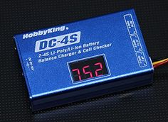 Hobbyking DC4S Balance Charger  Cell Checker 30w 2s4s *** Click image for more details.Note:It is affiliate link to Amazon.