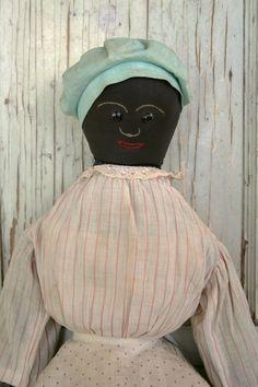 Antique Black cloth doll