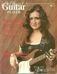 BONNIE RAITT GUITAR PLAYER MAGAZINE 1977