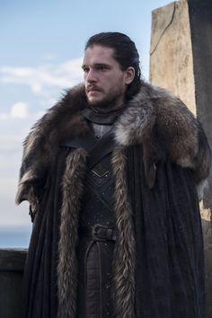 Kit Harington aka Jon Snow Game of Thrones season 7 Got Jon Snow, John Snow, Game Of Thrones Episodes, Got Game Of Thrones, Kit Harington, Khal Drogo, Winter Is Here, Winter Is Coming, Jon Schnee