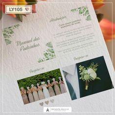 Manual dos Padrinhos - Identidade Visual Casamento Manual, Classic, Wedding, Dream Wedding, Digital Art, Derby, Valentines Day Weddings, Textbook, Classic Books