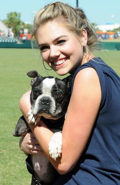 Kate Upton hosts a Grand Slam Adoption event with the Wins for Warriors Foundation.