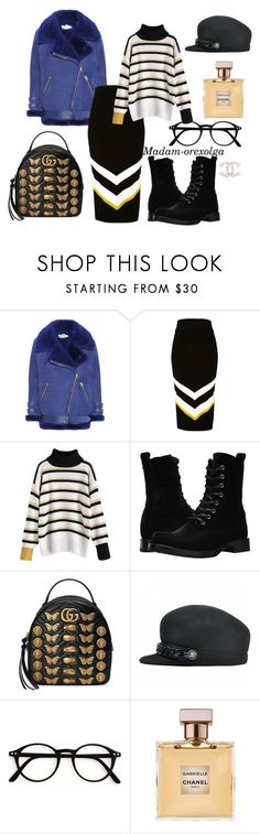 """Winter 2017/18"" by lailamur on Polyvore featuring мода, Acne Studios, River Island, Frye, Gucci и Chanel"