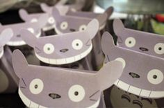 Aww what how come I never got Totoro party bags! 11th Birthday, Birthday Party Themes, Birthday Ideas, Geek Party, Sleepover Party, My Neighbor Totoro, Animation, Party Bags, Party Time
