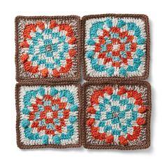 ゆったり時間に編みたい約4時間秋冬らしいこっくり色と手編みの風合い。|こっくり色で編みつなぐ 幾何学模様のかぎ針モチーフの会