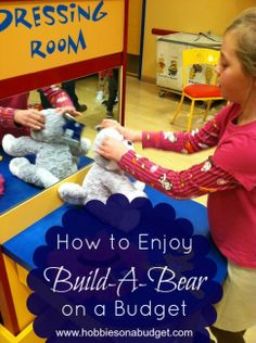 How to enjoy @Build-A-Bear Workshop without blowing your budget!  Real life tips from our family experience!