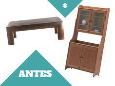 efecto madera lavada Muebles Shabby Chic, Decoupage Furniture, Chalk Paint, Ideas Para, Shelves, Diy, Painting, Living Comedor, Home Decor